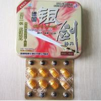 Cheap Effective Men Sexual Enhancement Pill / Penis Enlargement Capsule GMP wholesale