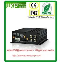 Cheap Super Anti-vibration 4CH HDD  H.264 Mobile DVR Recorder  with Mobile Phone Viewing for sale
