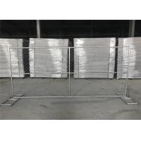 Cheap 8FT X 12FT 12.5GA wire 38mm outer tubing temp chain link construction security fence panels for sale