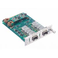 Cheap 8.5 to 11.7Gbps Multi-rate Fiber Converter Card SFP+ to SFP+ Transponder with Loopback and 3R for sale