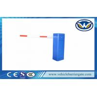 Cheap LED Light Automatic Vehicle Barrier Gate Used For Parking Toll / Supermarket for sale