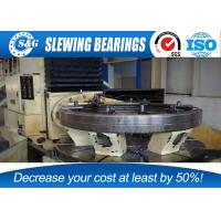 Cheap Anti Friction Slewing Ring Bearings Stainless Steel Whole Quench Hardening wholesale