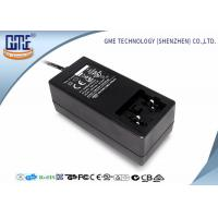 Cheap Black Antijamming 36W Switching Power Adapter With Coil , 87.4% Efficiency for sale