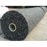 Cheap Spotted EPDM Rubber Flooring Rolls for sale