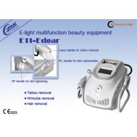 Cheap 1mhz Rf Ipl Laser Permanent Hair Removal Tattoo Removal Machine Ac220v / 50hz for sale