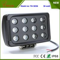 "Cheap 7"" 36W 3600LM LED work light in optional spot or flood beam for tractor,jeep,SUV and 4WD for sale"