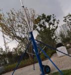 Cheap teleskopik ustun telescopic mast push up sectional mast 6m to 15m aluminum mast light weight radio antenna for sale