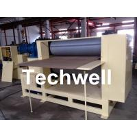 Cheap Roll Embossing Machine For Decorative MDF / HDF Panels 3.8 Ton for sale