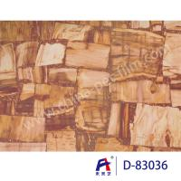 China Marble Series Decorative PVC Ceiling Film , Pvc Stretch Ceiling Film D -83036 on sale