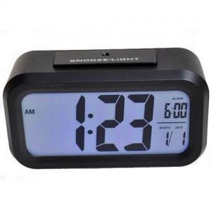 China large LCD display digital alarm clock HW-100 on sale