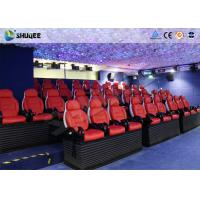 Cheap Various Special Effects 5D Theater With 5D Motion Chair For Fantastic Future Cinema for sale