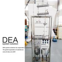 Cheap 0.5 KW Power Vacuity Petroleum Distillation Column Stainless Steel 304 Special Design for sale
