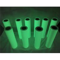 Cheap 50cm*50m Green Color Glow In The Dark Printer Paper For Apparel / Shoes for sale
