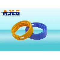Cheap Contactless H3 Chip Uhf Rfid Tag Water Proof Hf Rfid Silicone Wristband Bracelet for sale