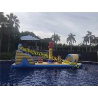 Cheap pirate pool obstacle course kids water obstacle for sale