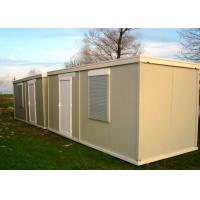 China Leisure Vacation Living Container House With Full Set Of Living Facilities on sale