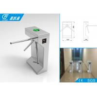 Stainless steel tripod turnstile with remote reader , 3 million cycles life span