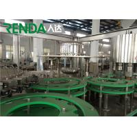 Buy cheap Automatic Drinking Mineral Water Filling Machine Electric Driven 2000 BPH from wholesalers