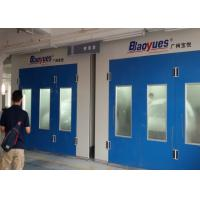 Cheap Body Shop Spray Painting Booth Full Grilles 50Mm Thickness Wall Panel for sale