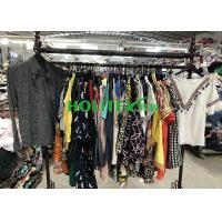 Cheap Summer Used Womens Clothing American Style Second Hand Cotton Blouse for sale
