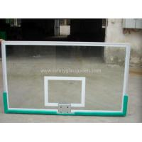 Cheap Custom Printed  Basketball Backboard  ,Tempered Glass Basketball System for sale