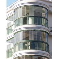China Insulated Bent Tempered Tinted Glass on sale
