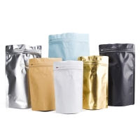 China Standing Black 1kg Coffee Packaging Pouch on sale