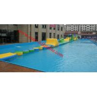 Cheap Cheap inflatable water obstacle course for sale , inflatable floating obstacle for sale