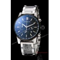 China Mont Blanc Chronograph Watch Stainless Steel Black Dial on sale