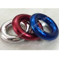 China 12mm x 28mm Aluminium Magnesium Alloy Round Ring For Climbing Descender on sale