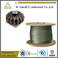 Buy cheap top quality 316 Stainless Steel Wire rope For fishery industry with cheaper from wholesalers