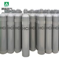 China DIJIA Colorless 99.9% pure industrial grade HCl gas on sale
