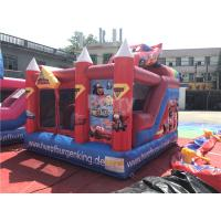 Cheap Colorful Car Inflatable Castle Children Bounce Combos  , Bounce House Funny Games for sale