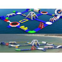 Buy cheap Covers 2000M2 Water Area Inflatable Water Park / Amusement Sea Water Sport Games from Wholesalers