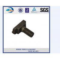 Quality ZhongYue Azerbaijan railway project carbon steel rail bolt and nut wholesale