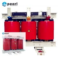 Cheap Dry Type Two Winding Power Transformer Self Extinguishing 35kV - 100 KVA for sale