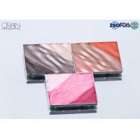 Buy cheap OEM square multi-color waved shadow palette Strong High Pigment Eyeshadow from wholesalers
