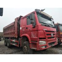 Cheap 25 Tons Used Commercial Trucks , 6X4 371HP / 375HP Used Heavy Duty Dump Trucks for sale