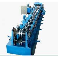 Cheap Galvanized Steel CZ Purlin Cold Roll Forming Machine High Speed 0 - 12m/Min for sale