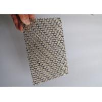 Cheap Production of wholesale corrosion resistant decorative mesh For indoor and outdoor use for sale