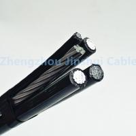 0.6 / 1KV Voltage Aerial Bundle Cable 3 Phase Conductor For Transmission Line