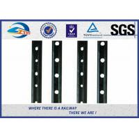 Cheap 45# Steel 6 Hole Railway Fish Plate Rail Splice Bar With Color Painting for sale