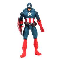 Cheap Plastic baby toys of captatin america for children, PVC material Plastic action figure toys for sale