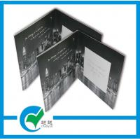 Cheap Musical Recording Greeting Card Stock Paper Lighting Printing For Holiday Invitation for sale