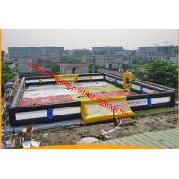 Cheap inflatable football pitch inflatable soccer pitch inflatable football field for sale