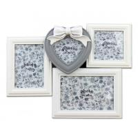 22 By 28 Frame White: White Color Combination Picture Photo Frame Wooden Picture