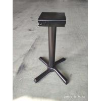 Cheap Black Space Saving Bar Table Legs Flip Top Table Base Cast Iron Table Bas legs for sale