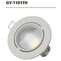Cheap GY-1101TH 6W LED Recessed Downlights , COB LED Downlight Fixtures For Hotel Project for sale