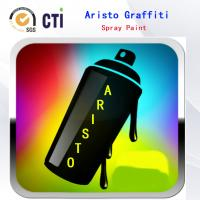 Cheap Solvent Based / Water Based Graffiti Spray Paint With Fat / Medium / Skinny Nozzle for sale