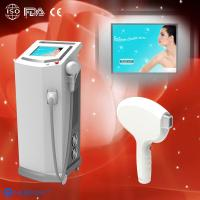 Cheap 810 nm Diode Laser Hair Removal Machine / Equipment For Hairline / Lip Hair for sale